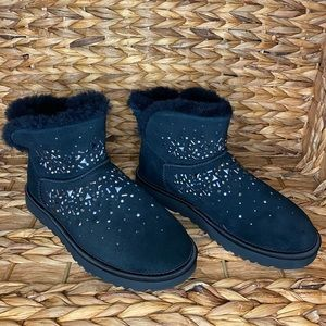 UGG Classic Galaxy Bling Mini Bootie